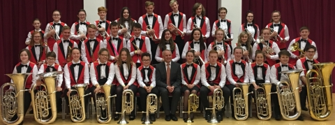 Enderby Youth Band's success at Championships