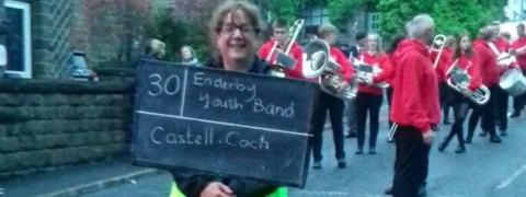 Youth Band Success at Whit Friday