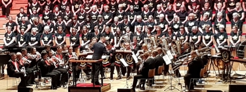 Enderby Band Announces New Musical Director at De Montfort Hall Concert